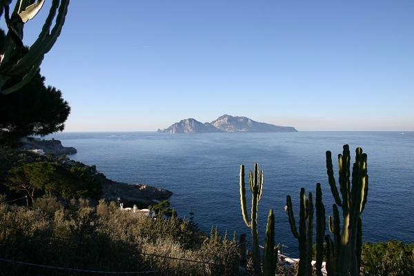Massa Lubrense, villa con discesa a mare